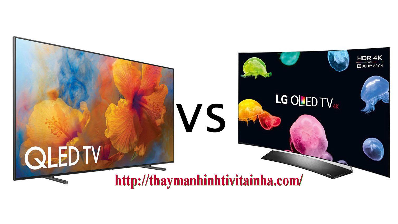 giá thay màn hình tivi lg oled tại nhà