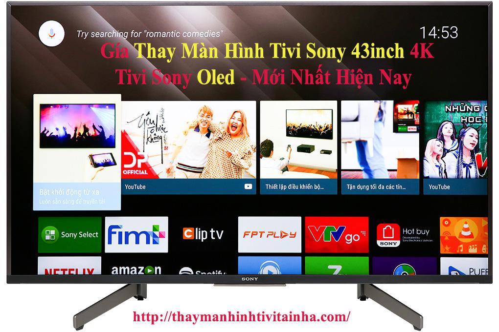 giá thay màn hình tivi sony 43inch tại hà nội