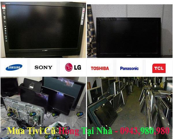 Mua tivi cũ tại nhà giá cao